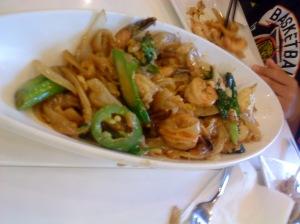 Joy Yee - Thai Spicy Shrimp & Squid Rice Noodle